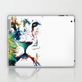 Colorful Lion Art By Sharon Cummings Laptop & iPad Skin