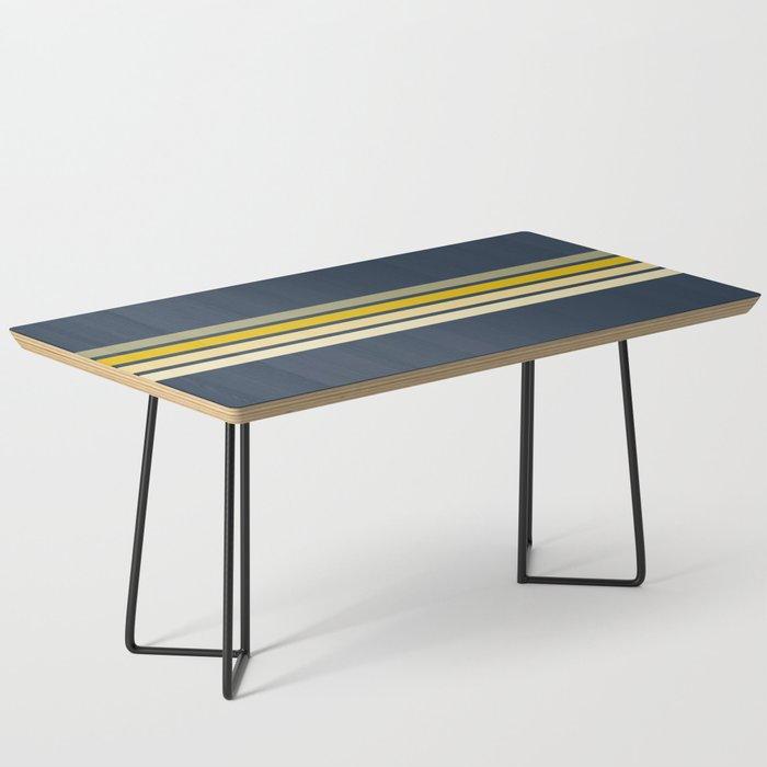 Racing Retro Stripes Coffee Table