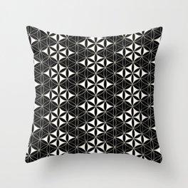 Flower of Life Pattern 12 Throw Pillow