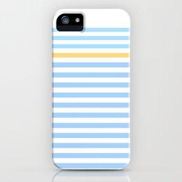 Simple skyblue iPhone Case