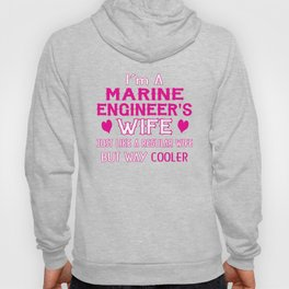 Marine Engineer's Wife Hoody