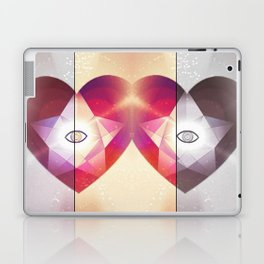 Tri-Color Jewish Star Of Protection Laptop & iPad Skin