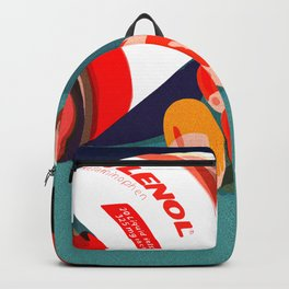 Red Tylenol Backpack
