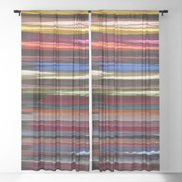 Cover me with Color Sheer Curtain