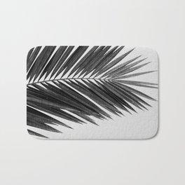 Palm Leaf Black & White I Bath Mat