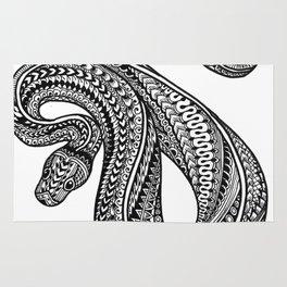 Ornate ball python Rug