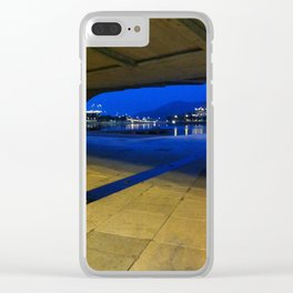 Blue sky Clear iPhone Case