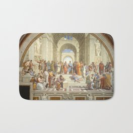 Raphael - The School of Athens Bath Mat