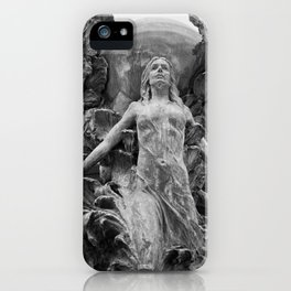 Downtown Statues iPhone Case