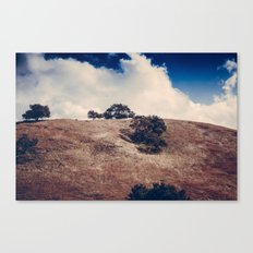 Clouds & Hills Canvas Print
