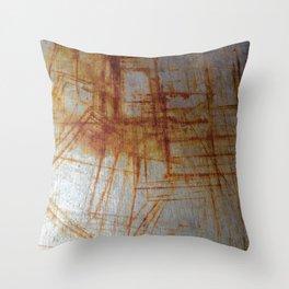 Rusty Boxy Throw Pillow