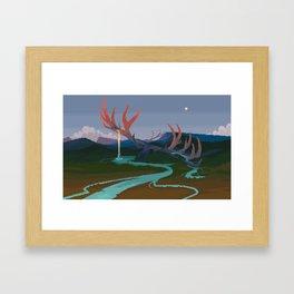 Becoming Earth Framed Art Print