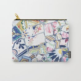Gaudi Park Guell Mosaic Carry-All Pouch