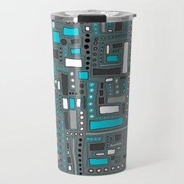 Turquoise Dream (Pattern) Travel Mug