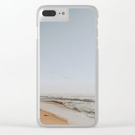 Half Moon Bay Clear iPhone Case