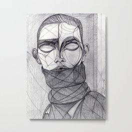 Alisa Ahmann by Txema Yeste - Artist: Leon 47 ( Leon XLVII ) Metal Print