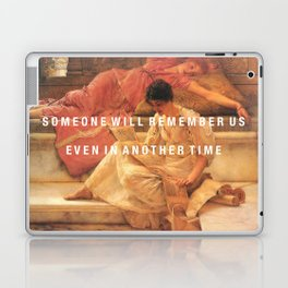 someone will remember us Laptop & iPad Skin