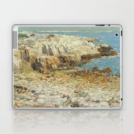 Childe Hassam A North East Headland 1901 Painting Laptop & iPad Skin