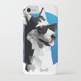 Cool Blue iPhone Case