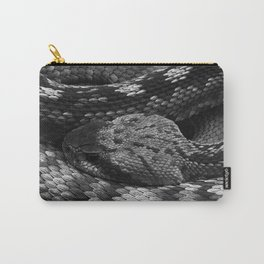 Diamondback Rattlesnake Carry-All Pouch