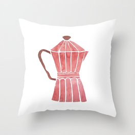 Cuban Coffee Throw Pillow