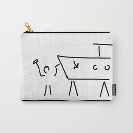 boat builder navigate dry dock Carry-All Pouch