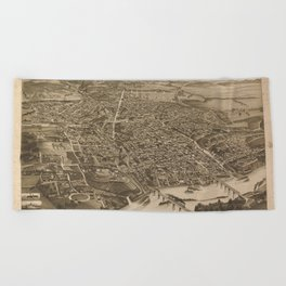 Knoxville 1866 Beach Towel
