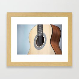 Classical Guitar Framed Art Print