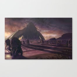 Cthulhu fhtagn no more Canvas Print