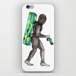 Bouldering Yeti iPhone Skin