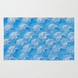 Waves - fluctuation Rug