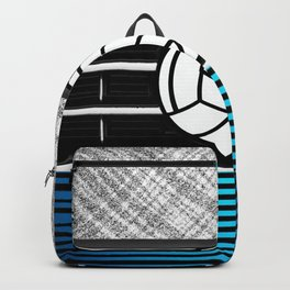 volley ball art Backpack