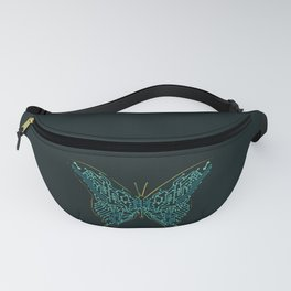 Mechanical Butterfly Fanny Pack