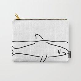 shark shark fish fin sea Carry-All Pouch