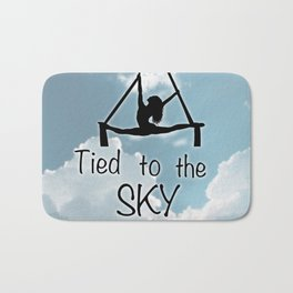 """Aeiralist """"Tied to the Sky"""" Graphic Bath Mat"""