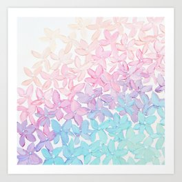 Hydrangea Romance Art Print