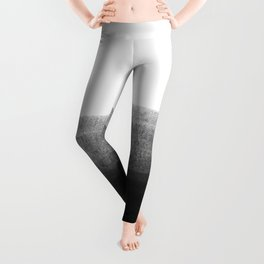 Black & Gold Stripes on White - Mix & Match with Simplicty of life Leggings