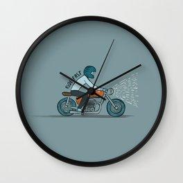 Ride Fast Wall Clock