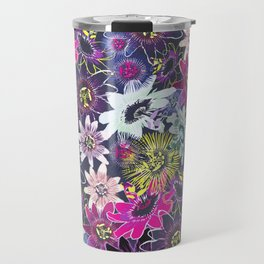 Passion Flower Bright Travel Mug
