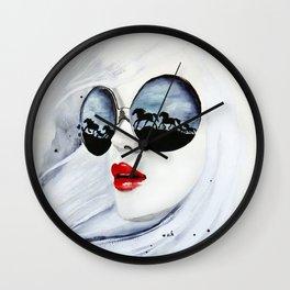 Wild Horses Wall Clock