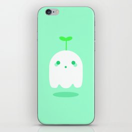 Ghost sprout iPhone Skin