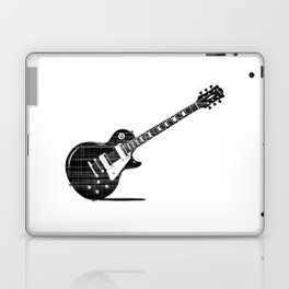 Black Guitar Laptop & iPad Skin