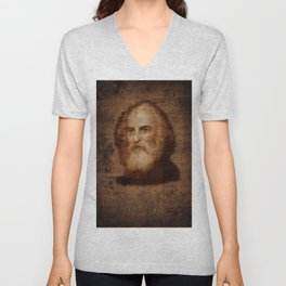 Henry Wadsworth Longfellow Unisex V-Neck