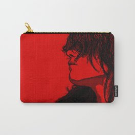Smoking (Black on Red Variant) Carry-All Pouch