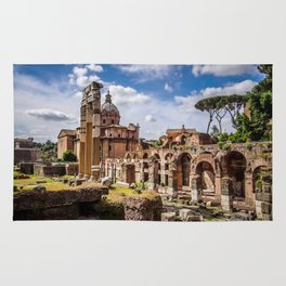 Roman Ruins Rug
