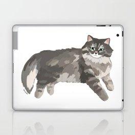 Norwegian forest cat Laptop & iPad Skin