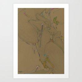 AKUE PRINTS /SEREDINA/VOL TWO  Art Print