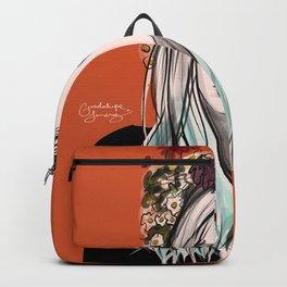 Orange girl Backpack