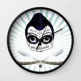 Day of the Dead (Alejandro) Wall Clock