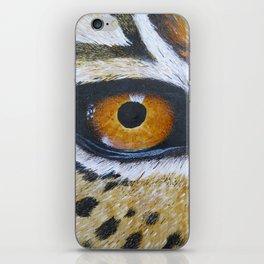 Eye See You Leopard Eye iPhone Skin